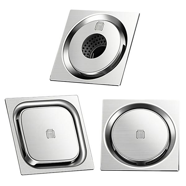Клапан сливной Xiaomi Mensarjor Big Swirling Floor Drain Three-Piece Set, 3 штуки