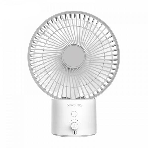 Портативный настольный вентилятор Xiaomi Smart Frog Air Circulation Fan White (MF100)