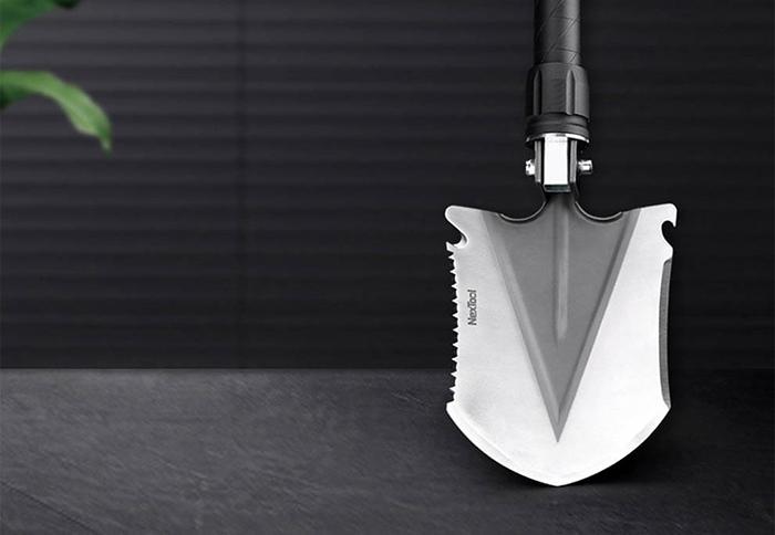 Лопата сапёрная складная 128мм NexTool Multifunctional Folding Shovel