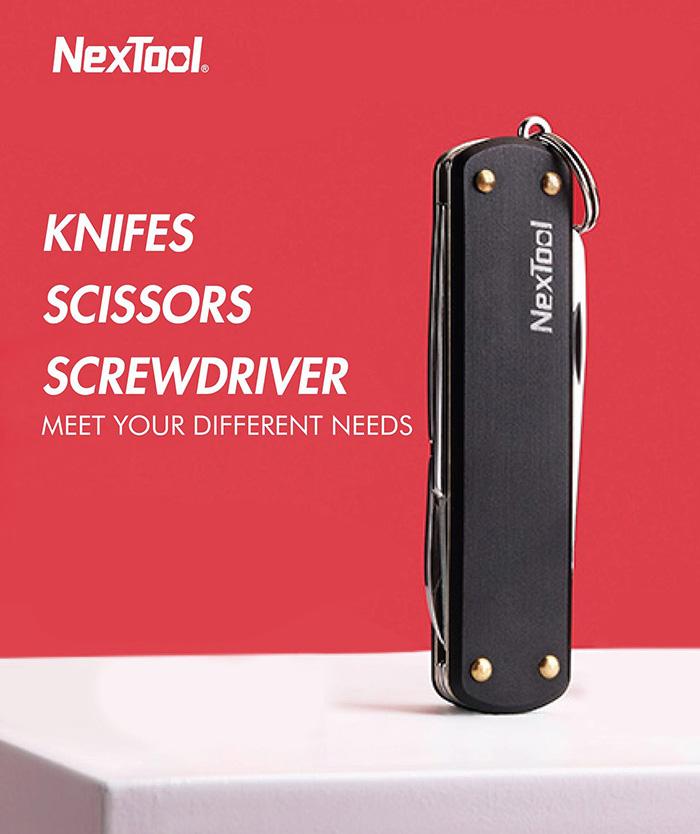 Нож перочинный Xiaomi NexTool Multi-function Folding Knife (KT5530B)