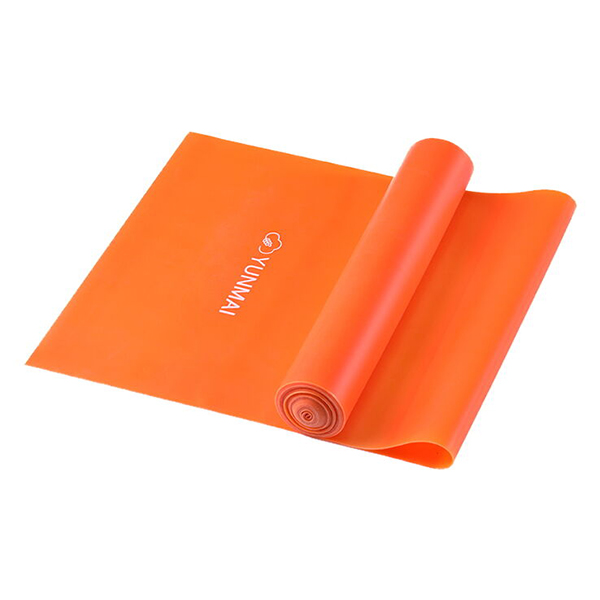 Лента эластичная для фитнеса Xiaomi Yunmai Elastic Band 0.35 мм Orange YMTB-T301