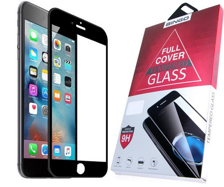 Защитное стекло 3D для Xiaomi A1 черное