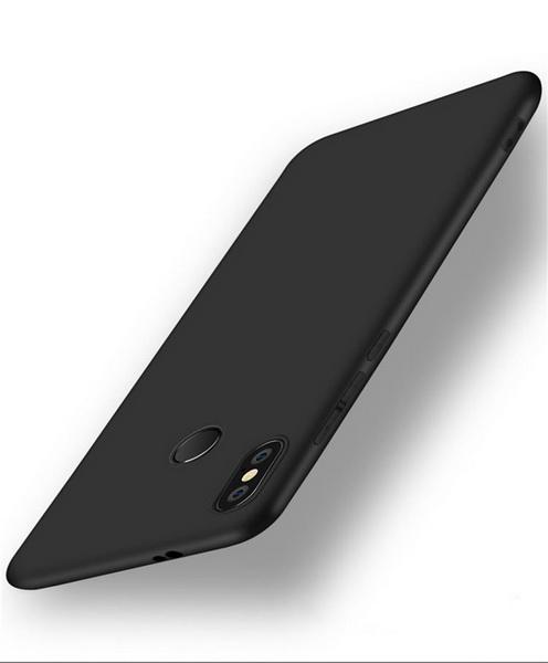 чехол силиконовый черный для Pocophone F1