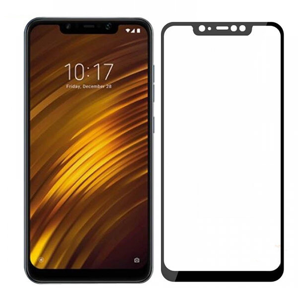 защитное стекло для Xiaomi Pocophone F1 черное