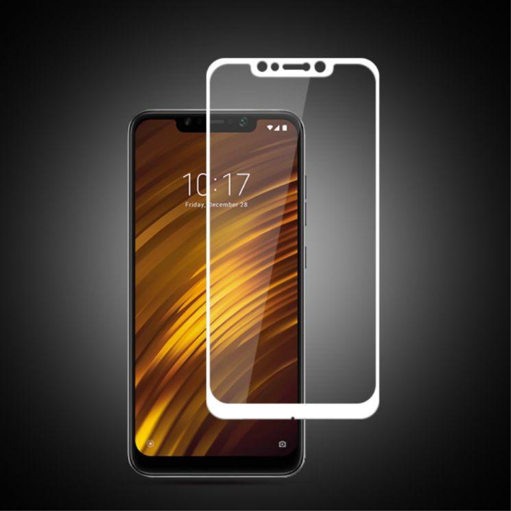 защитное стекло для Xiaomi Pocophone F1 белое