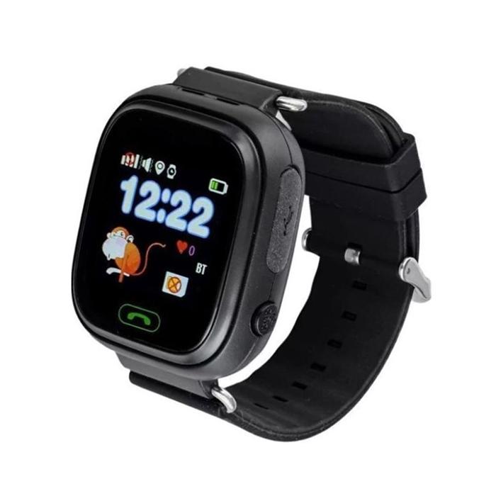 Детские часы с GPS трекером Smart Baby Watch Q90 черный