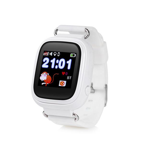 Детские часы с GPS трекером Smart Baby Watch Q90 белый