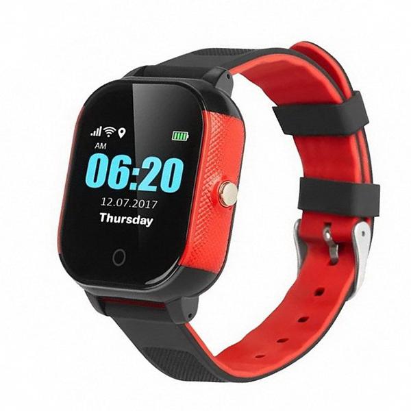 Часы Smart Baby Watch FA23 красный с чёрным
