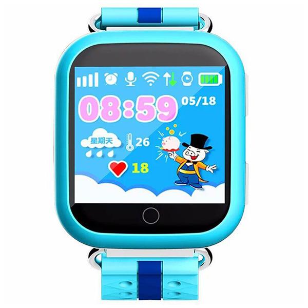 Часы Smart Baby Watch Q100 голубой