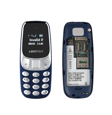 Мини телефон M10 черный (размером с зажигалку)