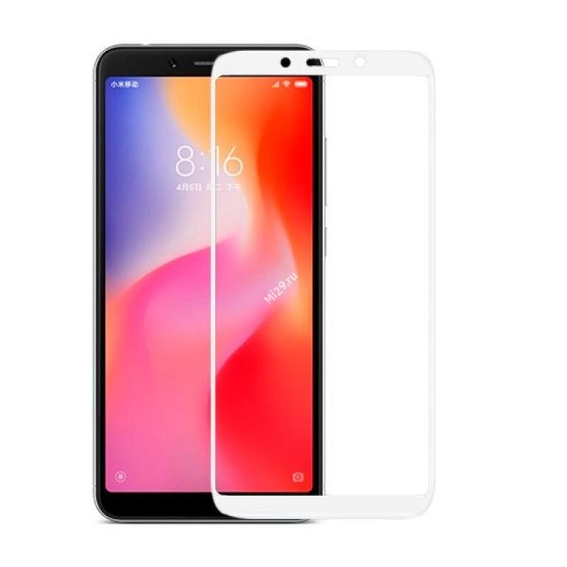 защитное стекло для Xiaomi Redmi Go белое