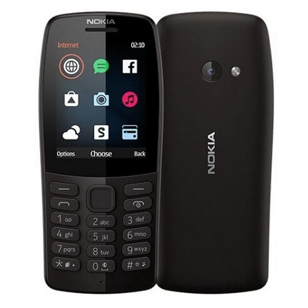 Телефон Nokia 210 Dual Sim черный