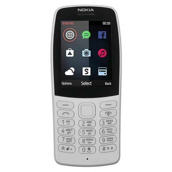 Телефон Nokia 210 Dual Sim серый