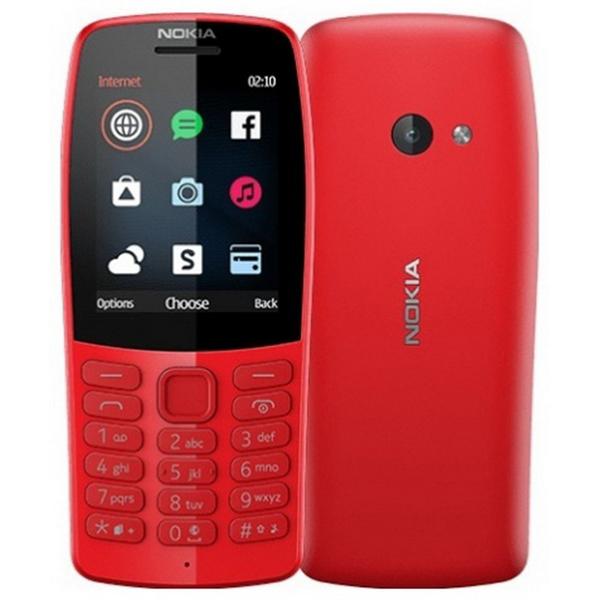 Телефон Nokia 210 Dual Sim красный
