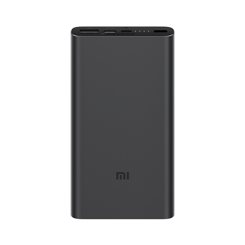 Аккумулятор Xiaomi Mi Power Bank 3 10000mAh PLM12ZM Black