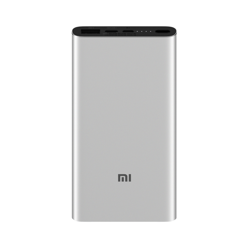 Аккумулятор Xiaomi Mi Power Bank 3 10000mAh серебристый