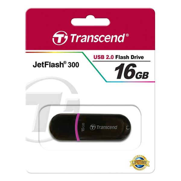 Флешка Transcend JetFlash 300 TS16GJF300 16 Гб