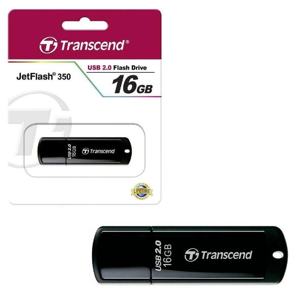 Флешка Transcend JetFlash 350 TS16GJF350 16 Гб
