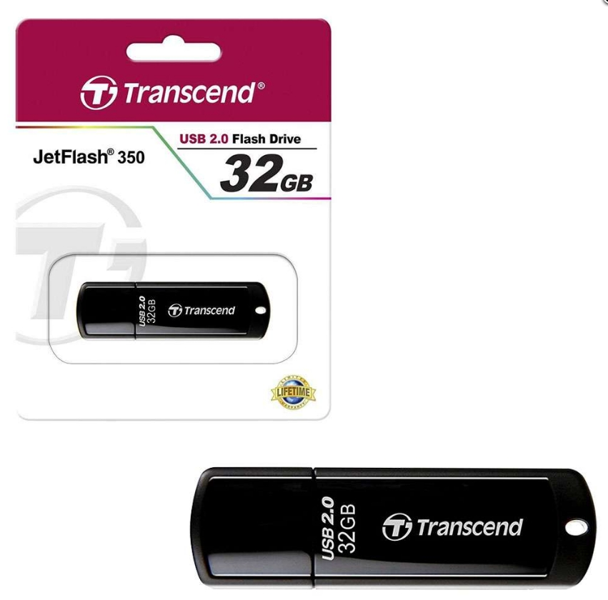 Флешка Transcend JetFlash 350 TS32GJF350 32 Гб