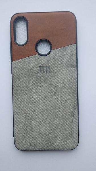 Чехол бампер для Redmi Note 7 серый