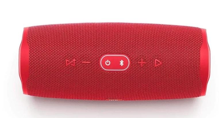 Беспроводная портативная колонка Charge 4+ средняя красный