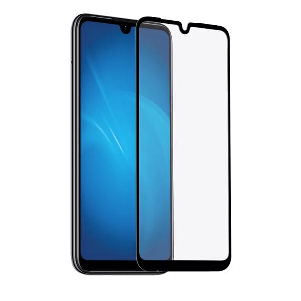Защитное стекло 3D для Xiaomi Mi Play черное