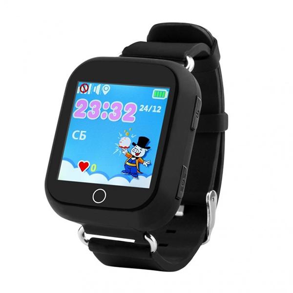 Часы Smart Baby Watch Q100 черный (БУ 10 дней)