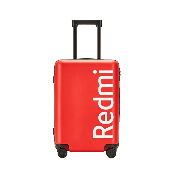 Чемодан Xiaomi Mi Trolley 90 Points Redmi 20 красный