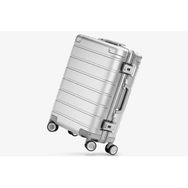 Чемодан Xiaomi Metal Carry-on Luggage 20 серебристый