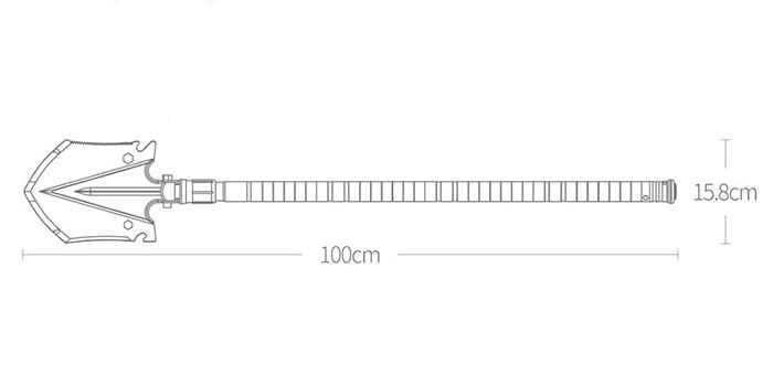 Лопата Xiaomi NexTool Shovel KT5524
