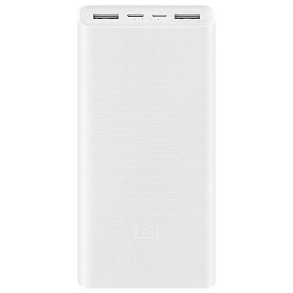 Аккумуляторзарядка Xiaomi Mi Power Bank 3 20000 Fast Charge QC3.0 Белый (PLM18ZM)